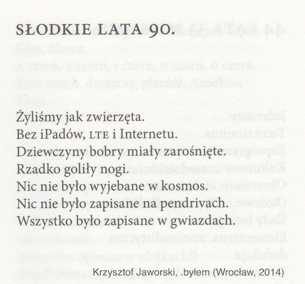 Krzysztof Jaworski Koncentracja