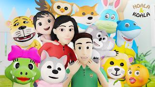 Hoala & Koala Lagu Anak Indonesia dengan Animasi 3D