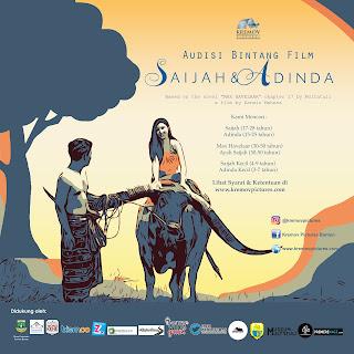 Ikuti Audisi Bintang Film Saijah dan Adinda