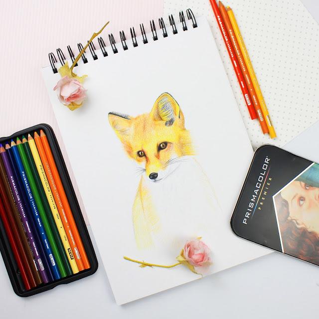 fox art, fox artwork, fox illustration