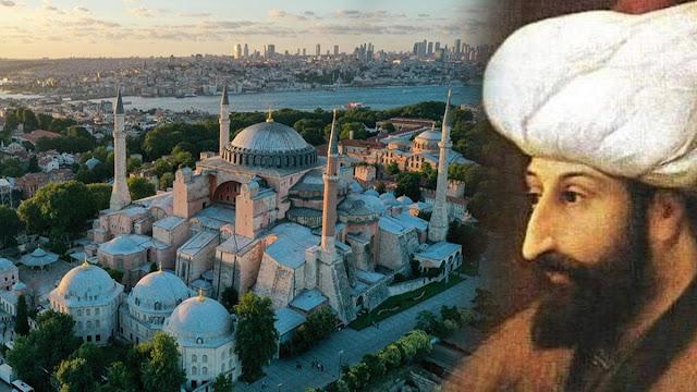Fatih Sultan Mehmet Han'ın yazdığı Ayasofya Vakfiyesi metni, Fatih Sultan Mehmet Han'ın Ayasofya Bedduası, vasiyeti, ayasofya hakkındaki sözleri..