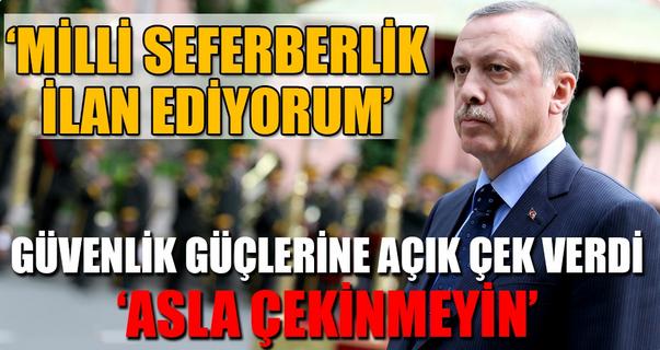 Σε πολεμική επιστράτευση εναντίον όλων, καλεί τους Τούρκους ο Ερντογάν