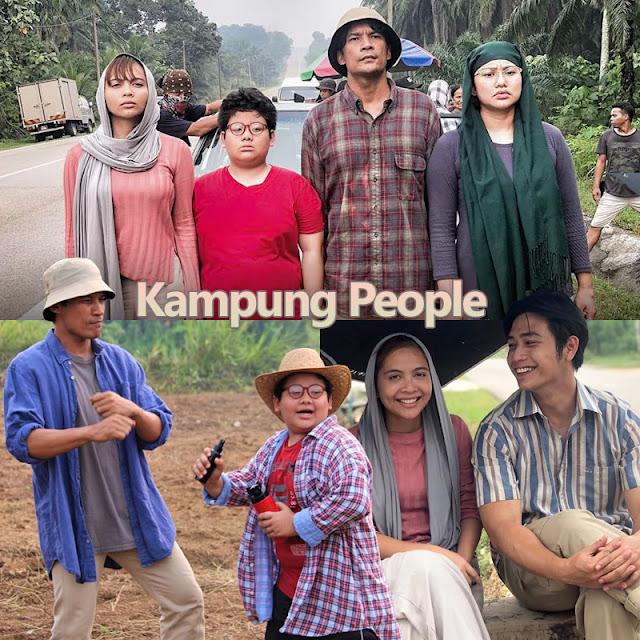 pelakon Drama Kampung People tv3
