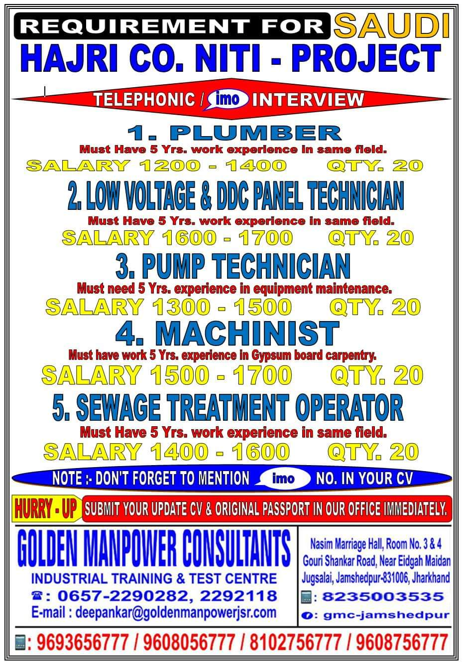 GulfJobPaper com   Assignments Abroad Times   India's No 1