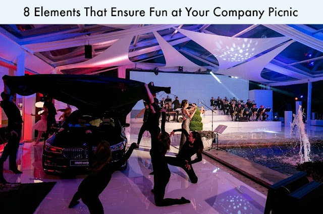 8 Elements That Ensure Fun at Your Company Picnic