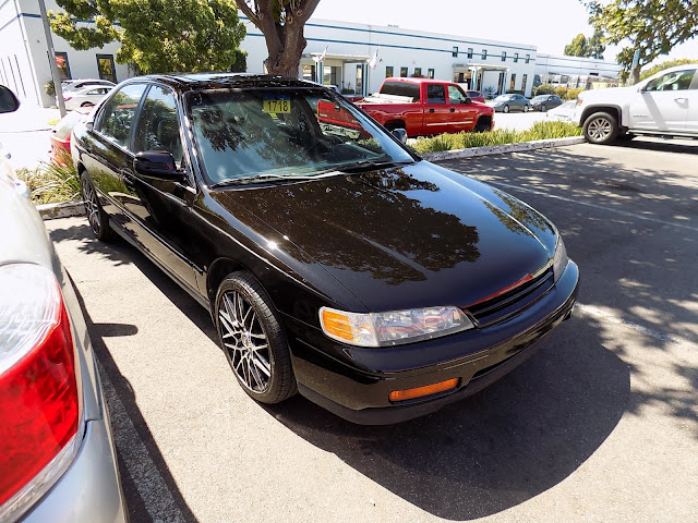 1995 Honda Accord with new paint job from Almost Everything Auto Body.