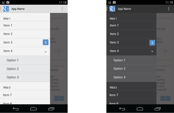 AndroidCodes: Android Navigation Drawer with Submenu