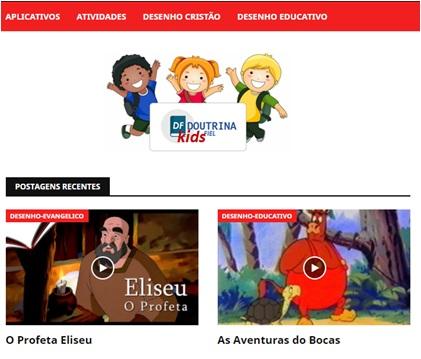 Doutrina Fiel Kids via Aplicativo Android