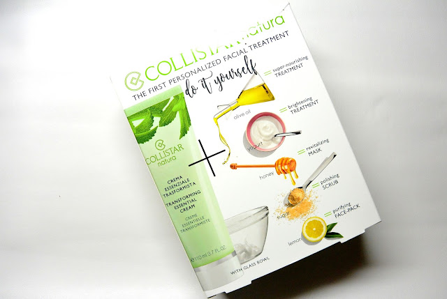 Collistar natura diy mask