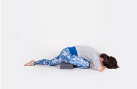 The Best Therapeutic Yoga Posture To Calm Anxiety