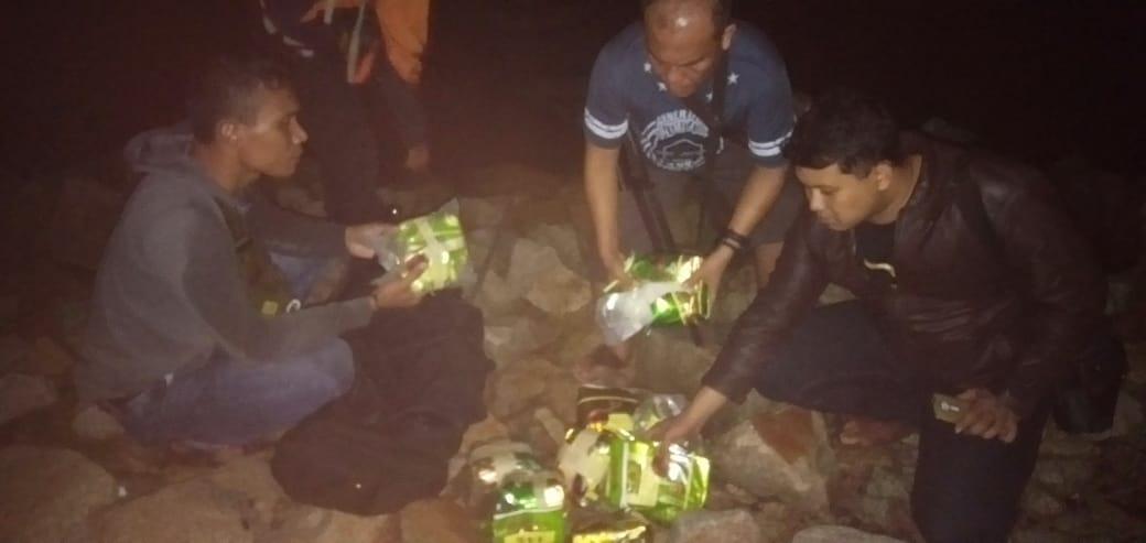 Lanal Dumai Gagalkan Penyeludupan Narkotika Jenis Sabu Dari Malaysia