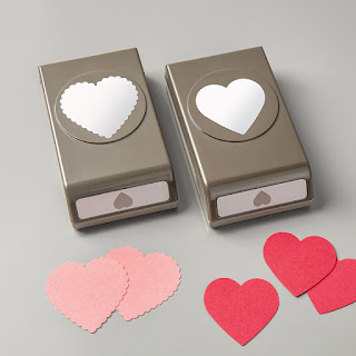 Stampin'UP! Heart Punch Pack