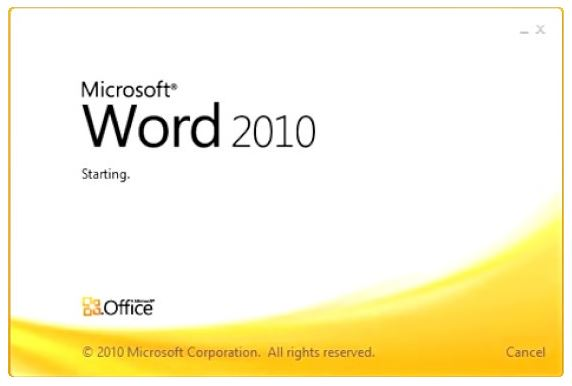 تحميل وورد 2010 للكمبيوتر مجانا