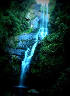 Queda e poço da Cachoeira do Remanso, Parque das 8 Cachoeiras, São Francisco de Paula