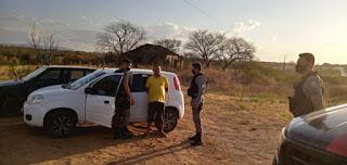 Popular é detido pela Patrulha Rural após agredir ex-companheira que estava com atual namorado