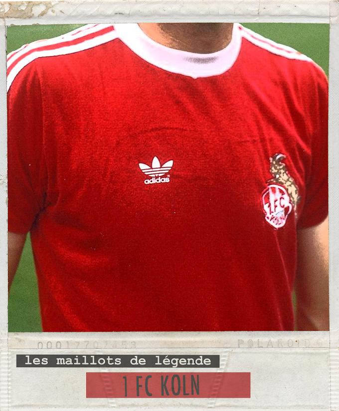 MAILLOT DE LEGENDE. F.C Köln.
