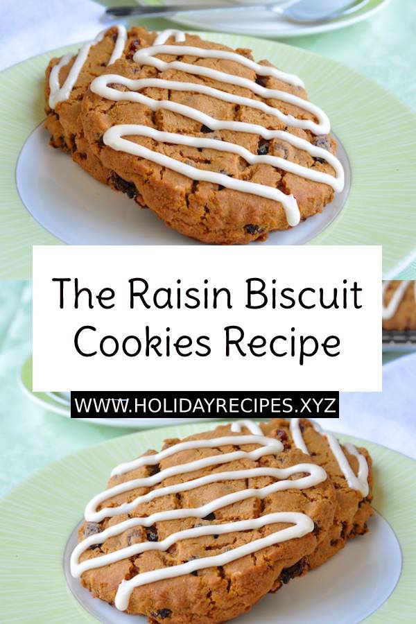 The Raisin Biscuit Cookies Recipe | Cookies Recipe | Easy Cookies Recipe #cookies #cookiesrecipe #dessert #biscuit #Biscuitrecipe #easydessertrecipe #snacks #easysnacks