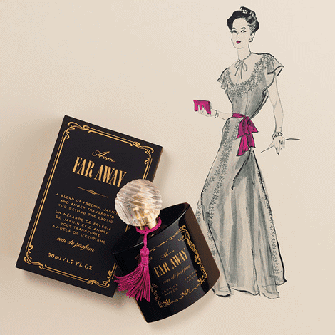 Iconic Far Away Eau de Parfum- An Iconic fragrance design, I chose this because I love Avon since in my younger ages.  It's vintage looks but full of memory.