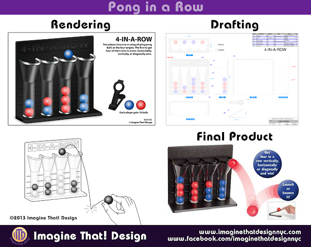 Pong in a Row designed and developed by Imagine That! Design for EB Brands