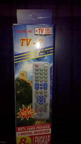 Kode Remot Chung He TV-7 Komplit