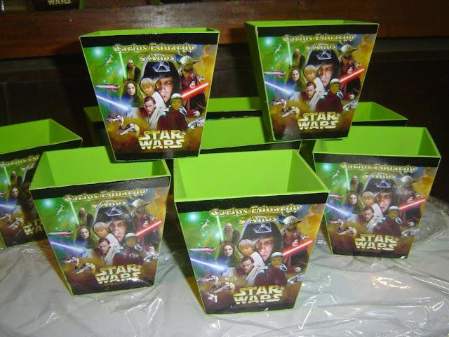 Centros de mesa Star Wars Chapeco