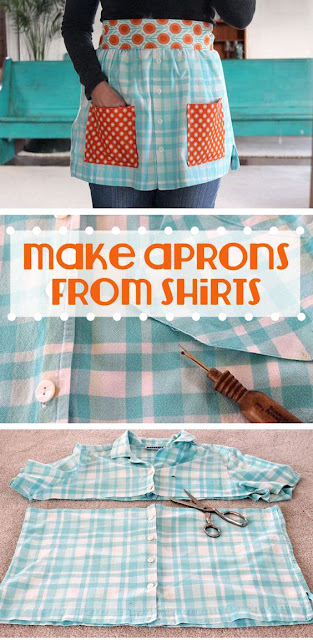 7 Free DIY Apron Sewing Patterns - Knittting Crochet - Knittting Crochet