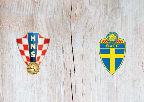 Croatia vs Sweden -Highlights 11 October 2020