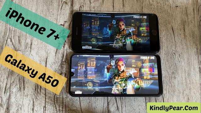 مقارنة بين iPhone 7 Plus vs Galaxy A50 أيهما الأقوى في تشغيل الألعاب