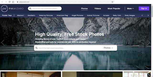 موقع بيك ويزارد Pikwazard لتحميل الصور ومقاطع الفيديو مجانا - وظائف ناو