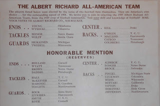 "Enlargment of ""All-American"" team list"