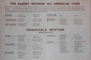 "Enlargment of ""All-American"" team list"