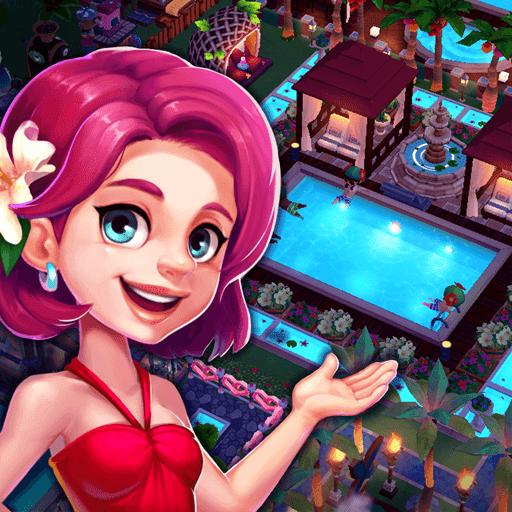 My Little Paradise : Resort Management Game - VER. 1.9.11 Unlimited (Gold - Diamonds) MOD APK