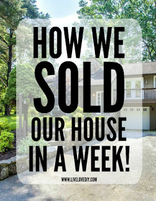 How We Sold Our House in a Week (and the final house tour)!