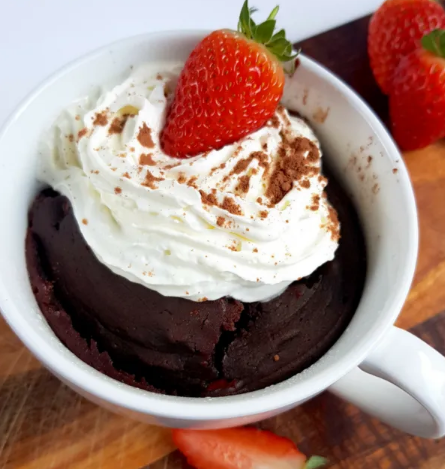 KETO CHOCOLATE MUG CAKE #keto #diet #healthy #recipes #chocolate