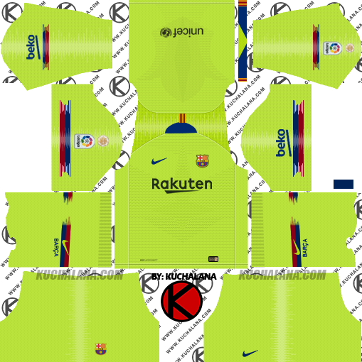 f c barcelona 2018 19 nike kit dream league soccer kits kuchalana