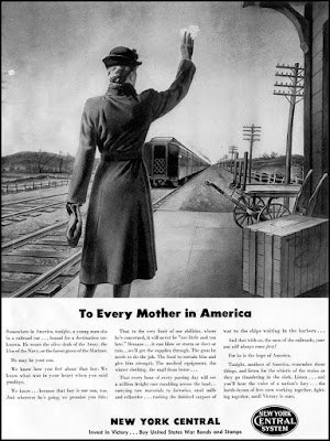 New York Central -- To Every Mother in America
