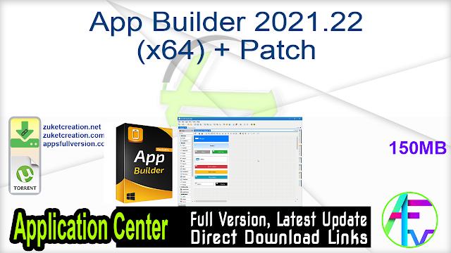 App Builder 2021.22 (x64) + Patch