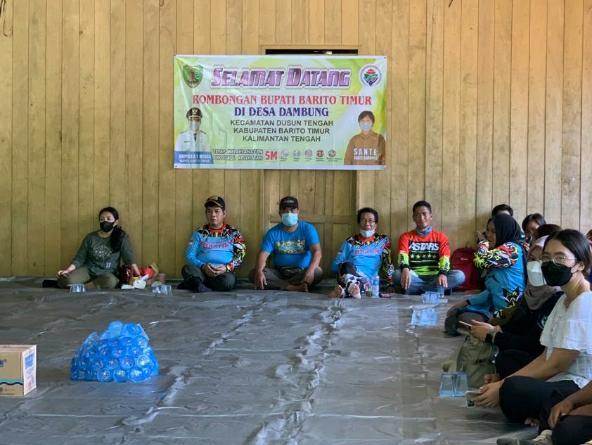 Bupati Bartim Sambut Baik Aspirasi Masyarakat Desa Dambung