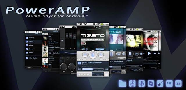 Poweramp Music Player v3-build-815 Patched Apk Is Here