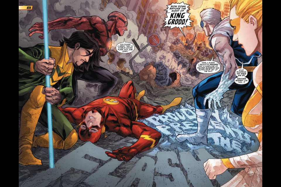The New 52 Flash The Flash 13