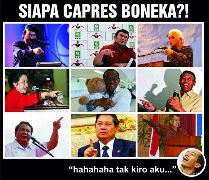 Presiden Boneka Jokowi Atau Aburizal Bakrie