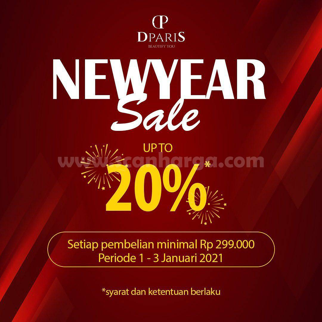 Promo DPARIS NEW YEAR SALE - Disc. up to 20% off