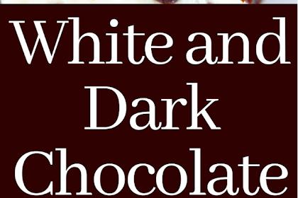 White and Dark Chocolate Cream Cheese Chocolate Cake Bars