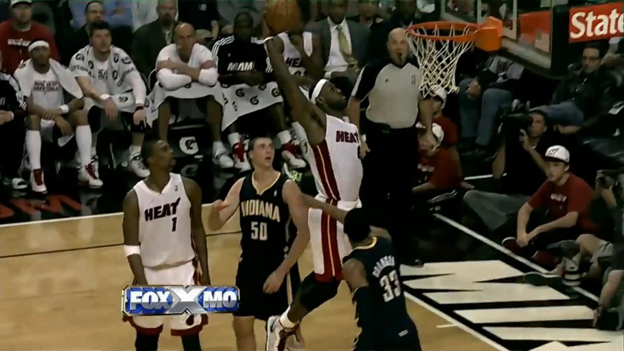 February 8, 2011(2/08/2011),LeBron James@IND,41pts