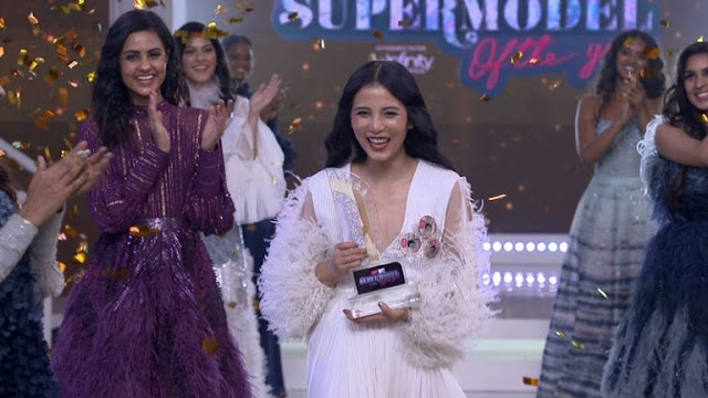 Gorkhas daughter Manila Pradhan wins the title MTV Supermodel of The Year.
