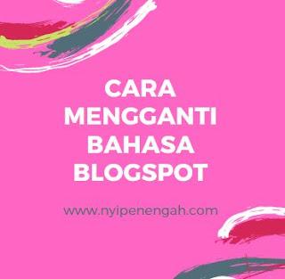 Blogspot ini merupakan platform kepunyaan Google