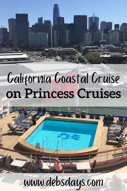 San Francisco: California coastal cruise on Princess Cruises