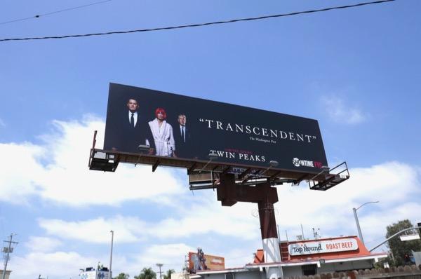 Twin Peaks 2018 Emmy FYC billboard