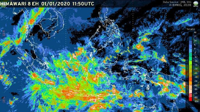 Waspada! Potensi Cuaca Ekstrem Masih Berlangsung Hingga Pekan Depan