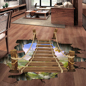 3d vinyl floor murals and art